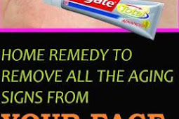 BEST HOME REMEDY TO REMOVE ALL THE SKIN AGING SIGNS FROM YOUR FACE