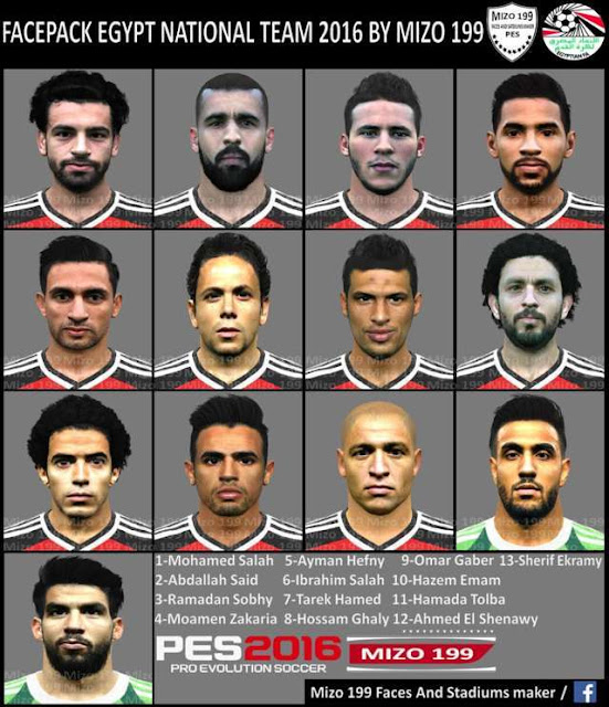 PES 2016 Facepack Egypt