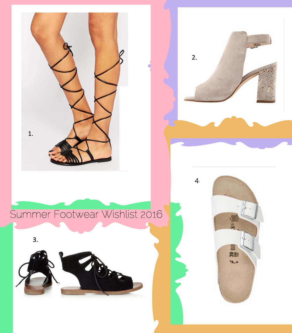 Summer 2016 Footwear Wishlist Jones Bootmaker New Look Asos