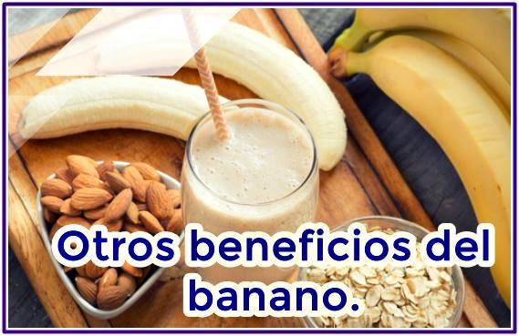 Propiedades medicinales del banano