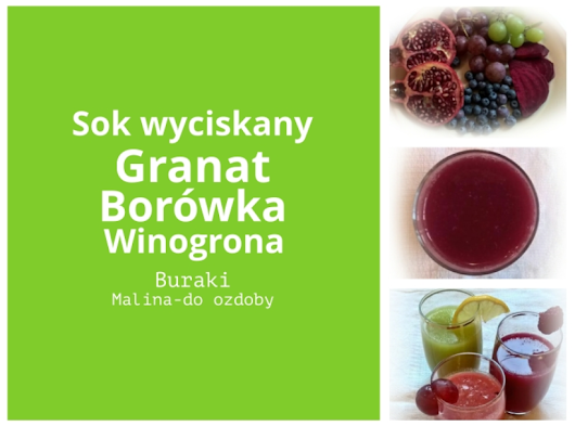 fresh&yummy: Fresh pressed fruit juices/Wyciskane soki owocowe
