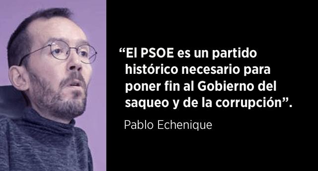 Unidos Podemos ofrece retirar su moción de censura a Rajoy si Pedro Sánchez presenta una propia