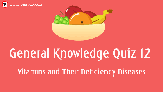 vitamins and their deficiency diseases