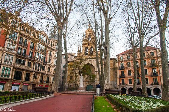 Iglesia de San Vicente Mártir de Abando de Bilbao