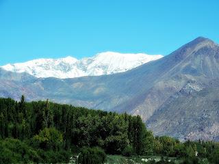 Pré-Cordilheira e Cordilheira dos Andes, Uspallata