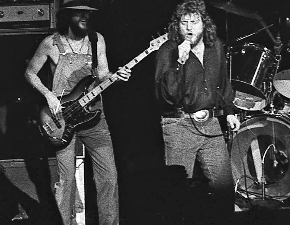 Crystal Ship on stage at the Capitol Theatre in Passaic, New Jersey 1979