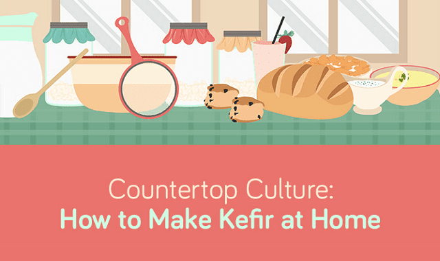 Countertop Culture: How to Make Kefir at Home