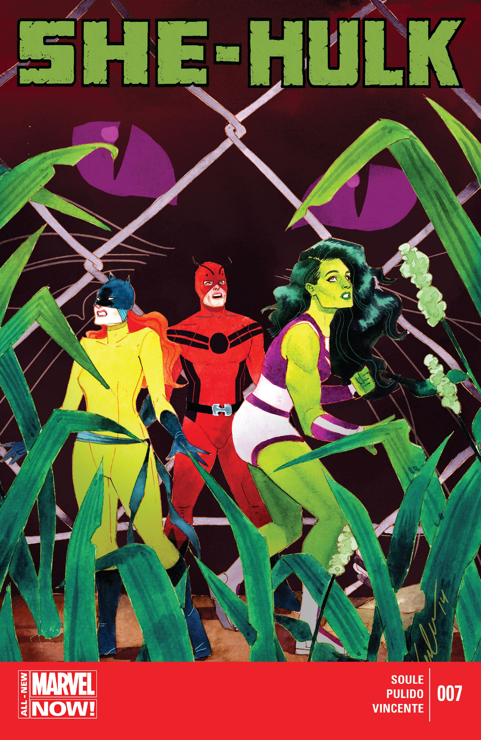 Read online She-Hulk (2014) comic -  Issue #7 - 1