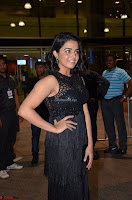 Wamiqa Gabbi in a sleeveless Black Designer Transparent Gown at 64th Jio Filmfare Awards South ~  Exclusive 040.JPG