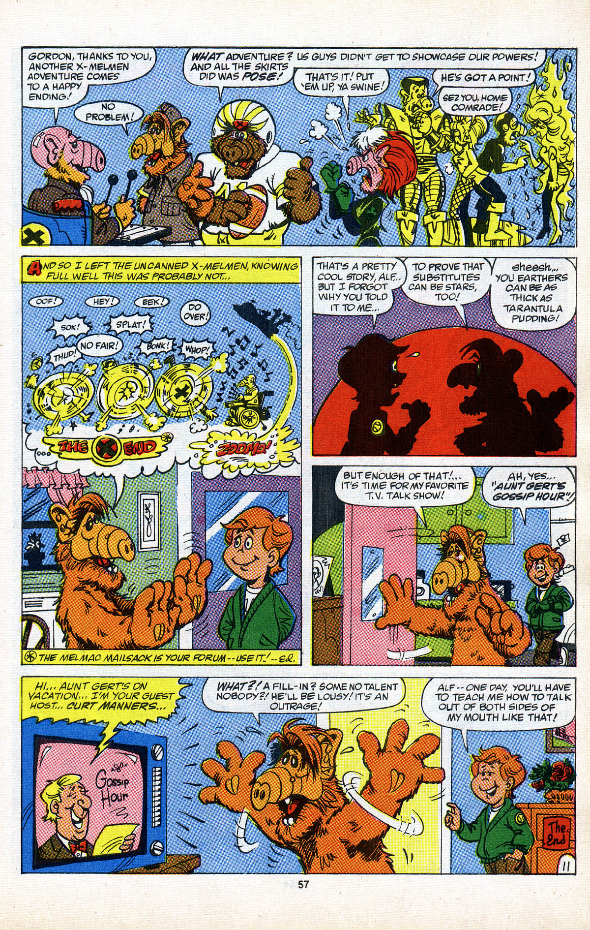 Read online ALF comic -  Issue #2 - 58