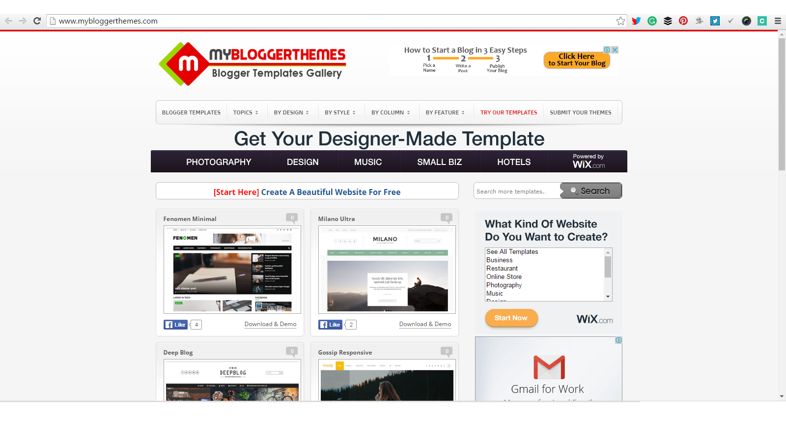 Top 10 Websites To Download Free Blogger Templates Skillful Bill