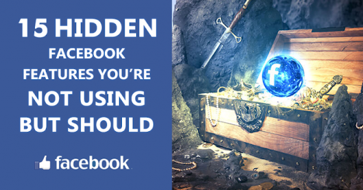 15 Hidden Facebook Features You Didn't Know About ~ 4hmiiworld