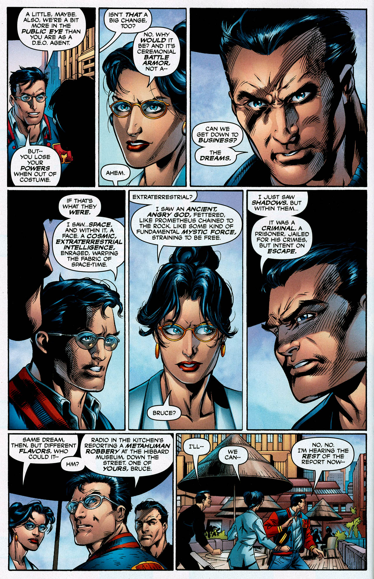 Read online Trinity (2008) comic -  Issue #1 - 10