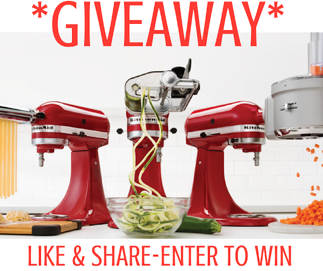 WIN FREE Stand Mixer Attachments From KitchenAid