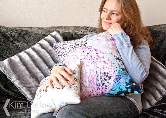 snapfish printed photo cushions kim dellow