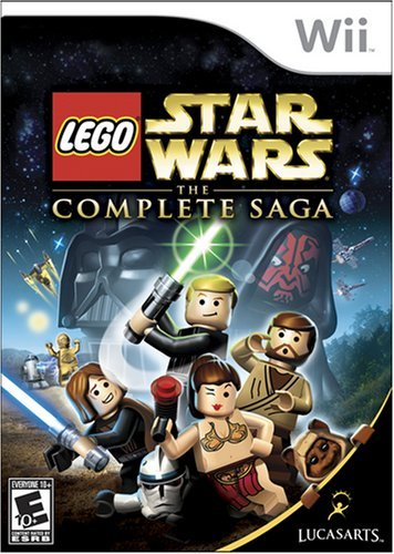 LEGO Star Wars: The Complete Saga USA Wii ISO