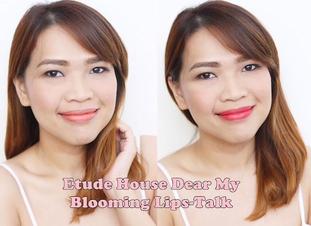 a photo of Etude House Dear My Blooming Lips-Talk Chiffon-nikki-tiu-askmewhats
