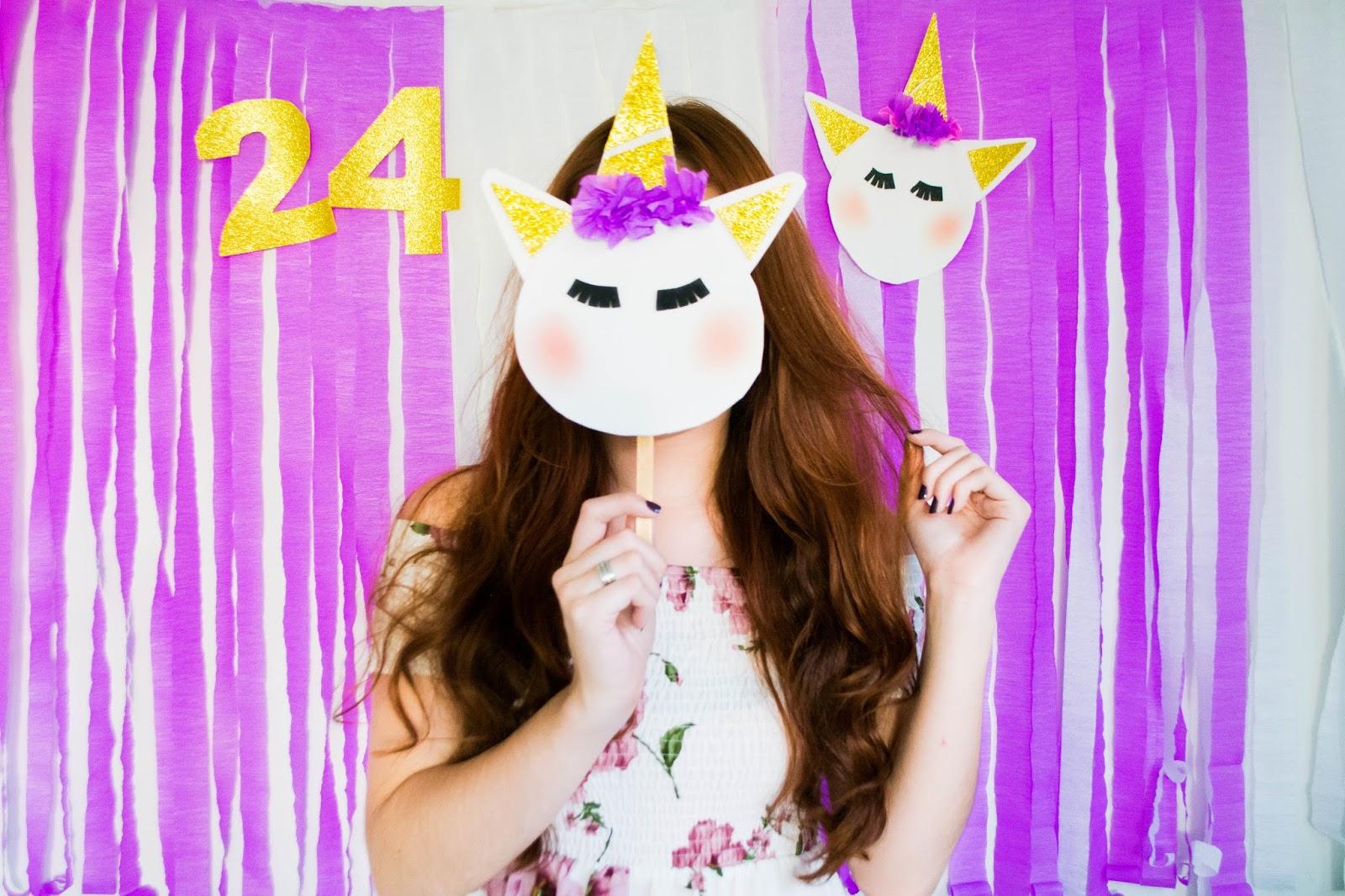 Vlog: Meu Aniversário - Bolo de Unicórnio, decoração e muito amor ♥