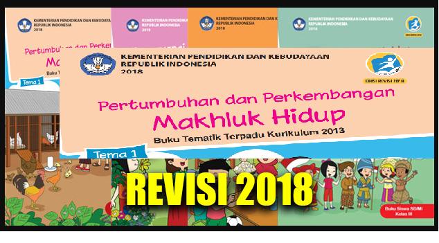 Buku Kelas 3 Kurikulum 2013 Revisi 2018 Tema 1 2 3 4 Semester Ganjil Info Pendidikan Terbaru