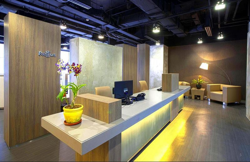 Regus introduces 'office of the future'