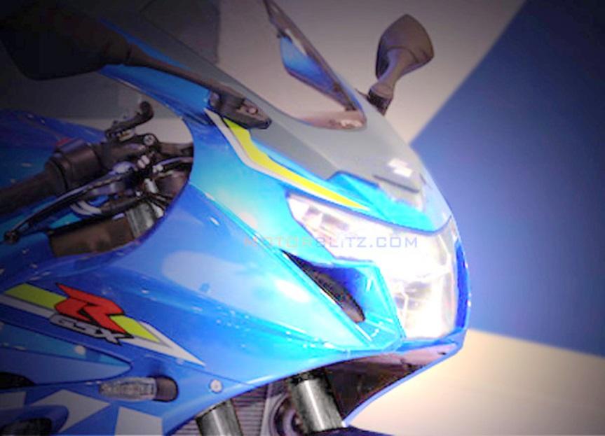 Wahh . . ada kemungkinan kalau nantinya Suzuki GSX-R150 akan menggunakan stang jenis underyoke !