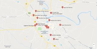 List of LPG Gas Cylinders Agencies in Muzaffapur
