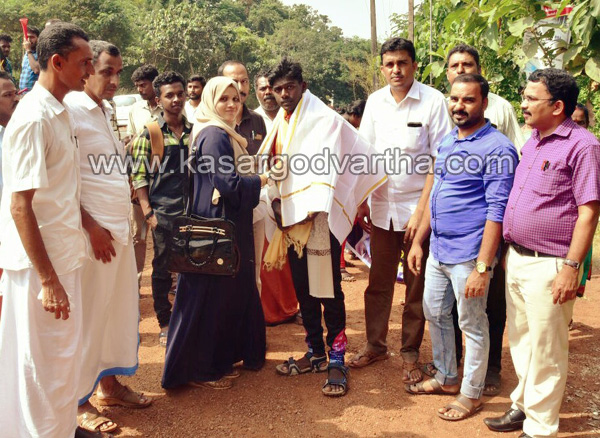 Kerala, News, Kabaddi, Felicitation for National Kabaddi Championship Kerala Player Pratheep