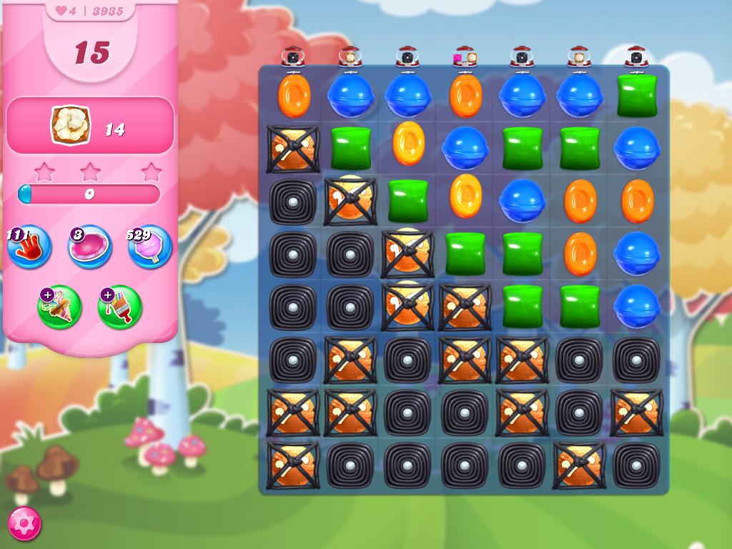 Candy Crush Saga level 3935