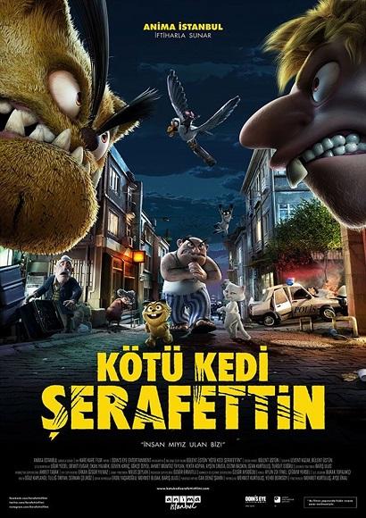 Kötü Kedi Şerafettin (2016) DVDRip Tek Link