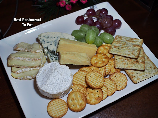 CHRISTMAS 2018 DINNER Dishes - Cheese Platter