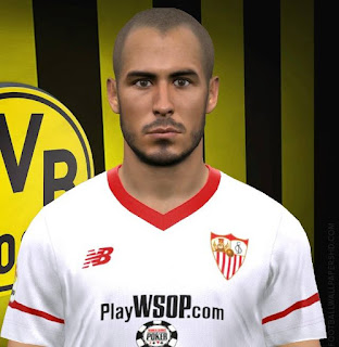 PES 2017 Faces Guido Pizzaro by FaceEditor Jefferson_SF