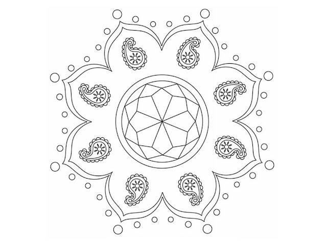 Diwali Drawing Ideas