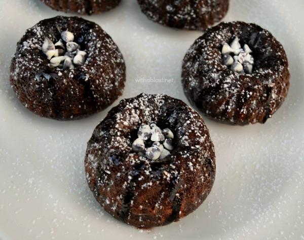Mini Mexican Chocolate Bundts