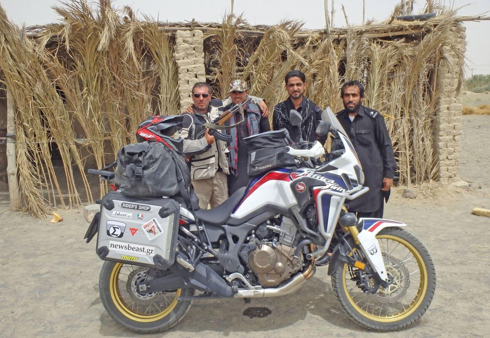 TRANS - ASIAN 2017: ένα ταξίδι στο δρόμο του μεταξιού και των μπαχαρικών, μήκους 16.450 χλμ. με Honda CRF1000L Africa Twin