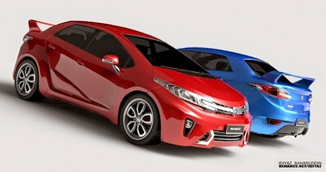 Model Kereta Baru Proton Saga 2016