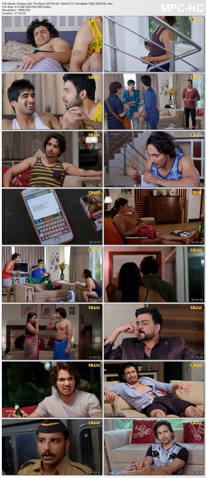 Dubeyji And The Boys [2018] Hindi S 01 Complete 720p WEB DL – 900MB Desirehub