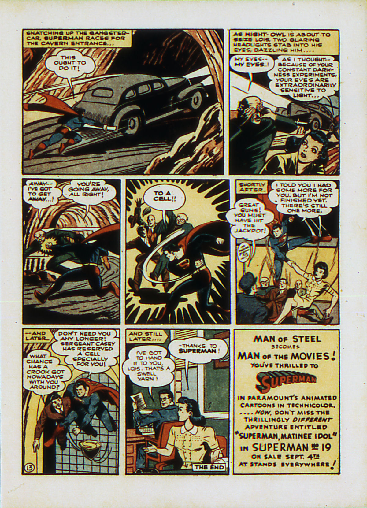 Read online Action Comics (1938) comic -  Issue #53 - 16