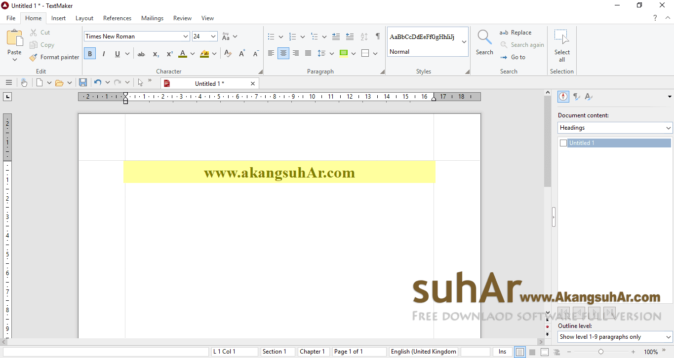Free download Ashampoo Office 2018 full activation key