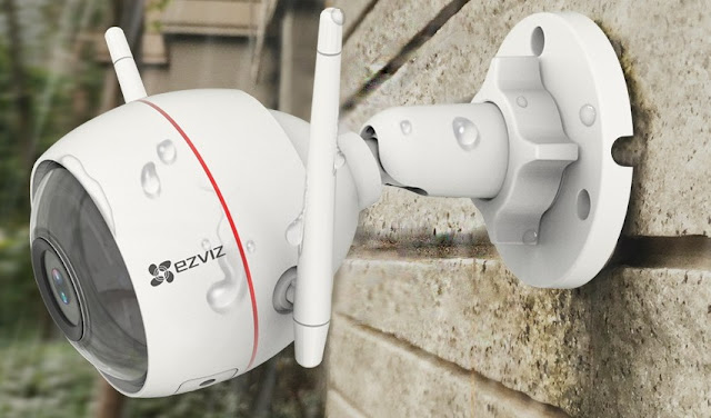 Cara setting alarm motion pada kamera husky air ezviz