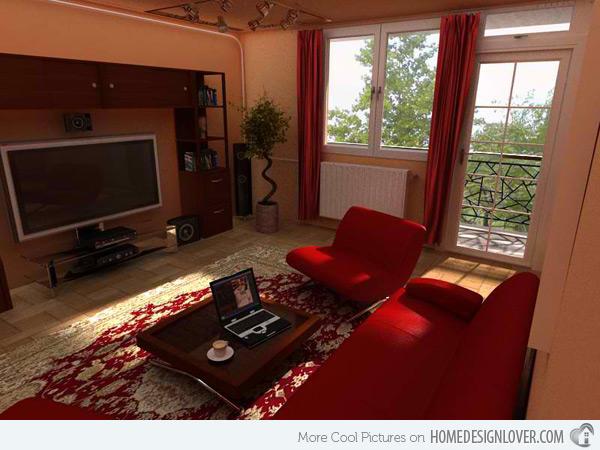 ห้องนั่งเล่นขนาดเล็ก