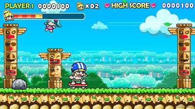 Wonder Boy Returns Gameplay
