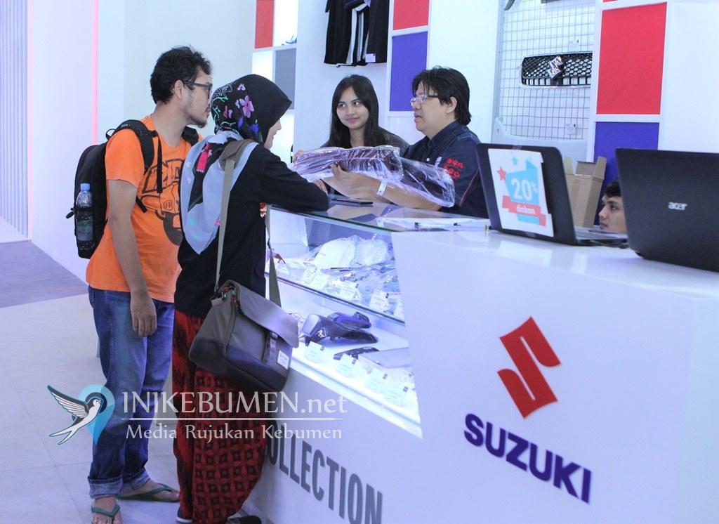 Suzuki Gelar Promo Menarik SGA dan Suzuki Sport Apparel di IIM