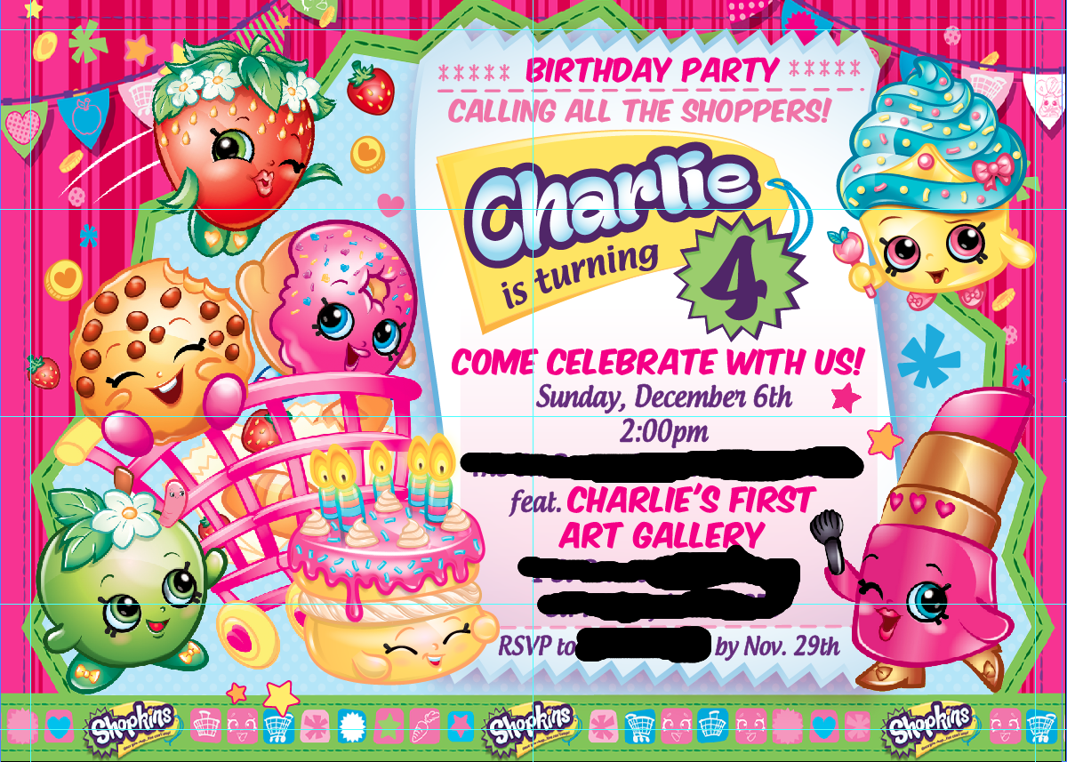 raising little geniuses throw a shopkins birthday party