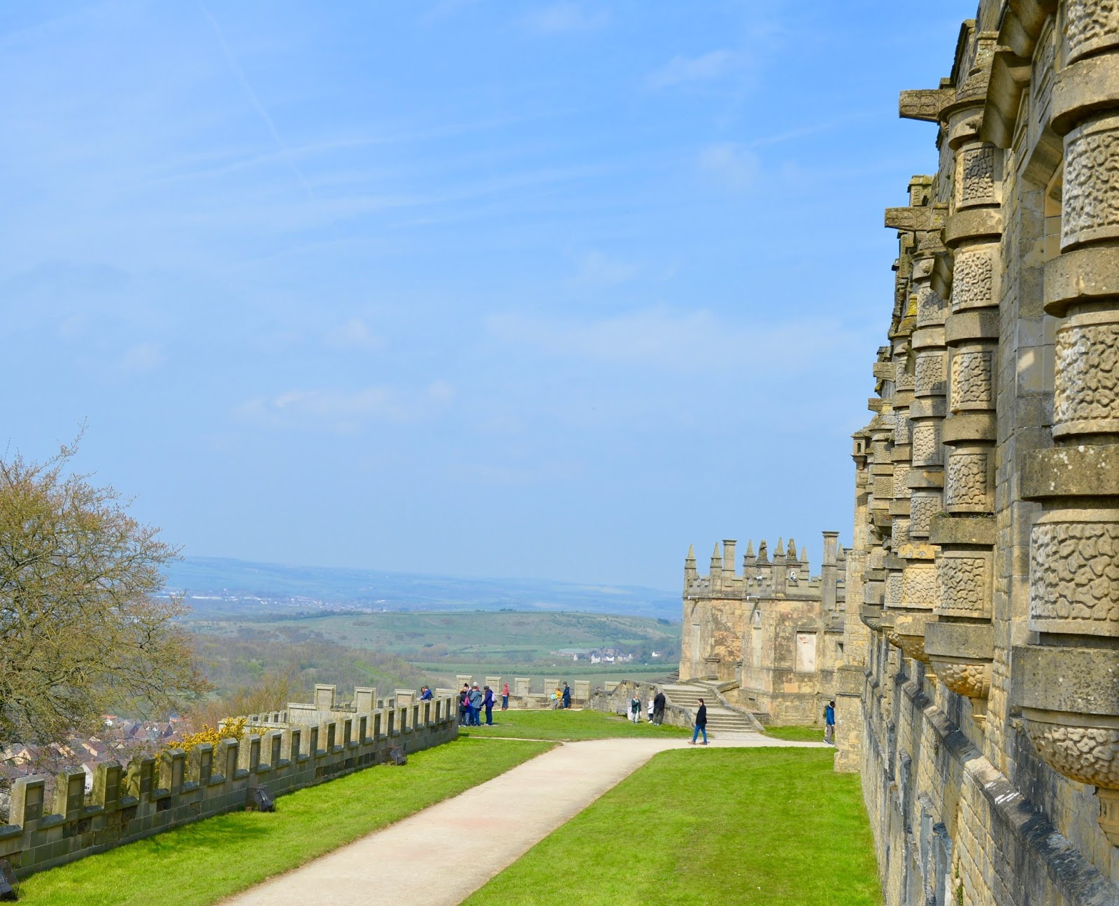 A Review of Darwin Forest & The Peak District with Tweens  - Peak district views from Bolsover Castle