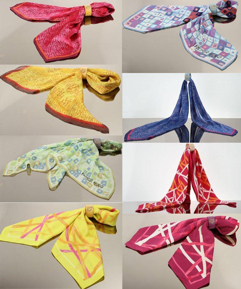 9191c98f88b A novidade de inverno da marca VICTOR HUGO é a nova coleção de lenços de  seda! Eles dão um ar de sofisticação a qualquer look