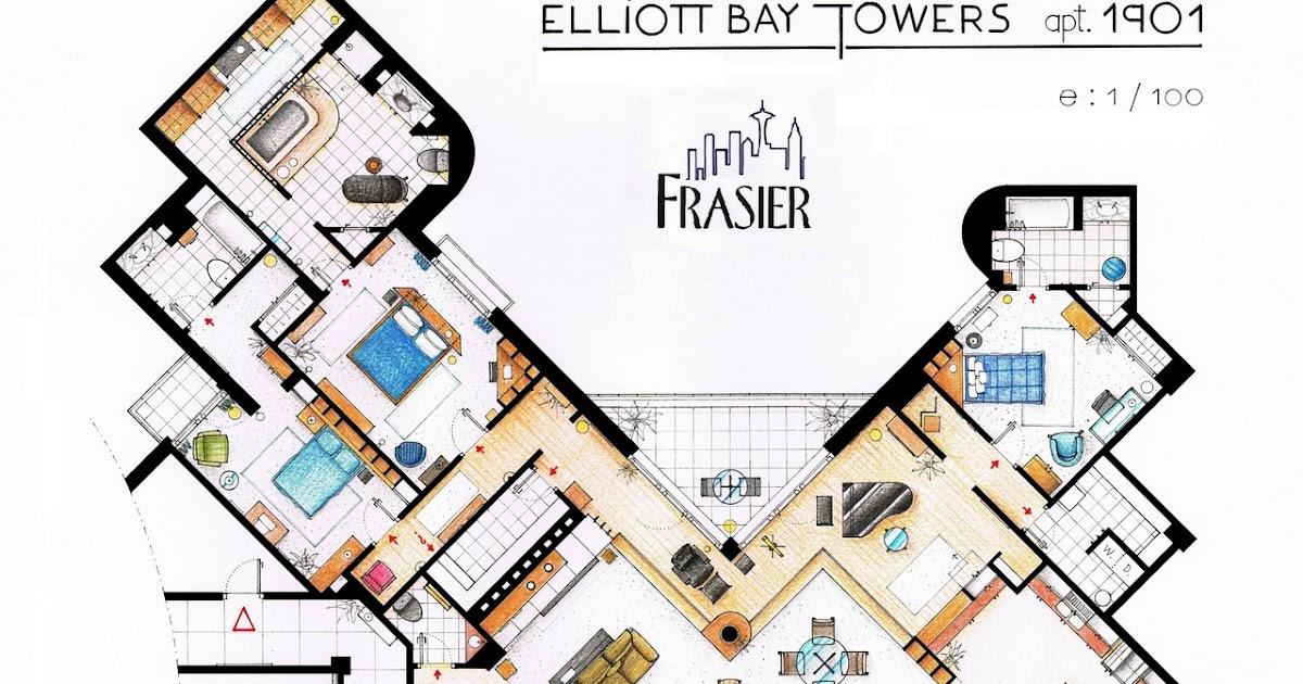 Nag On The Lake Frasier S Apartment Houseplan