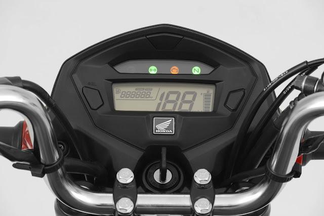 Honda CG 160 Fan 2017 - painel