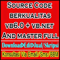 Source Code vb6.0 and vb.net Terlengkap