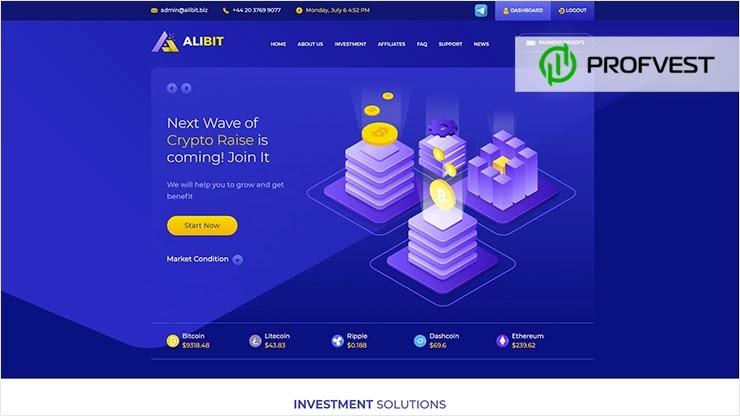 Alibit обзор и отзывы HYIP-проекта