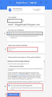 Cara Mendaftar Google Adsense dari Blogger Blogspot dengan Mudah